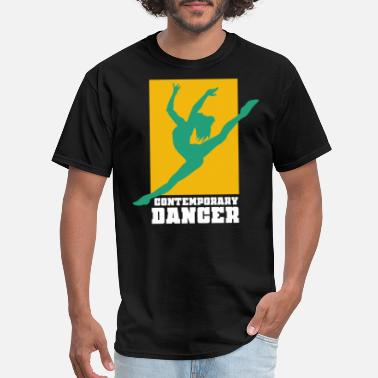 Contemporary Dance Contemporary Dance Dancing Modern Dancer Ballet - Men's T-Shirt