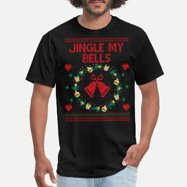 Funny Christmas Funny Ugly Christmas Sweater - Men's T-Shirt