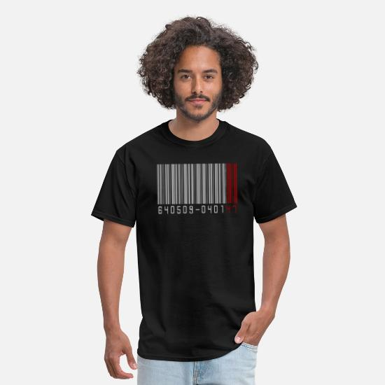 Movie T-Shirts - barcode - Men's T-Shirt black