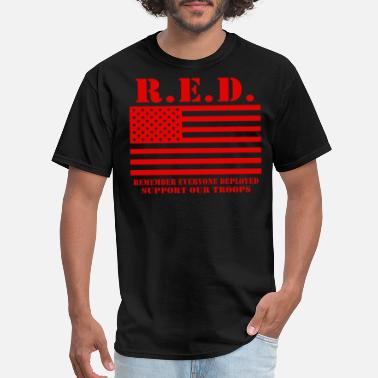 Red Friday Army Mom Red Friday Wear Red On Friday - Men's T-Shirt