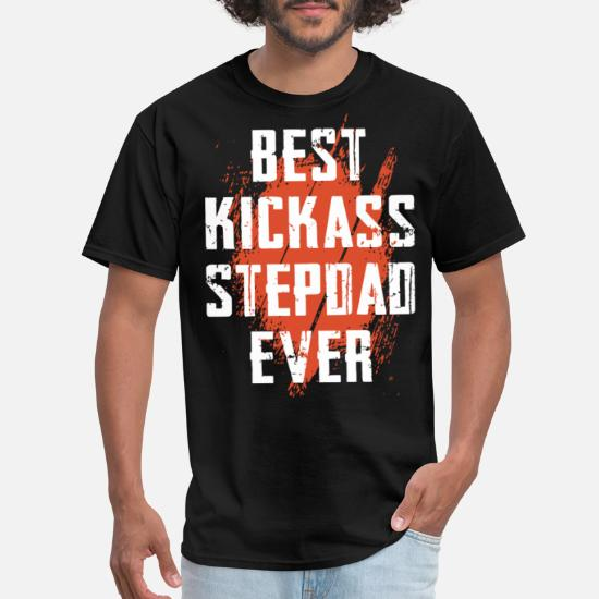 b8c1b472 Funny stepdad T shirts for fathers day Men's T-Shirt   Spreadshirt
