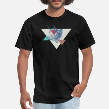Cow Designs COW triangle design - Men's T-Shirt