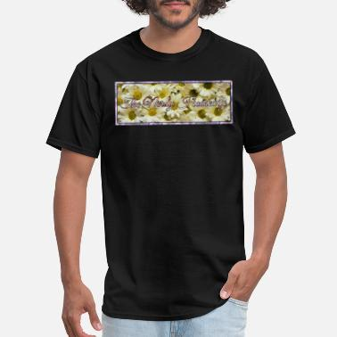 Nerdy Design The Nerdy Housewife Banner Design - Men's T-Shirt
