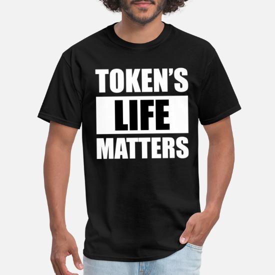 Black Lives Matter Token/'s Life Matters MEN/'S Eric Cartman South Park T-Shirt
