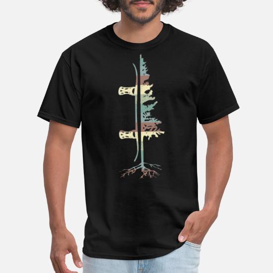 Standard Unisex T-shirt Snowboard Heartbeat