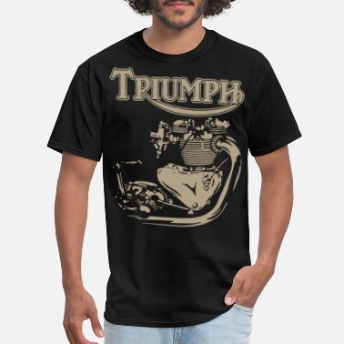 Engine New Triumph Engine Motorcycle cycling T Shirts - Men's T-Shirt
