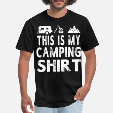 This Is My Camping this is my camping shirt camping - Men's T-Shirt