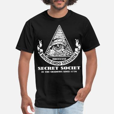 Fuck Illuminati ILLUMINATI SECRET SOCIETY NEW WORLD ORDER VARIOUS - Men's T-Shirt