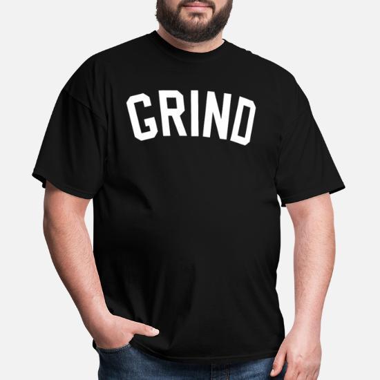 4c98d9b00 Grind Yankee Hustle Out Work Hard Practice Tee All Men's T-Shirt ...