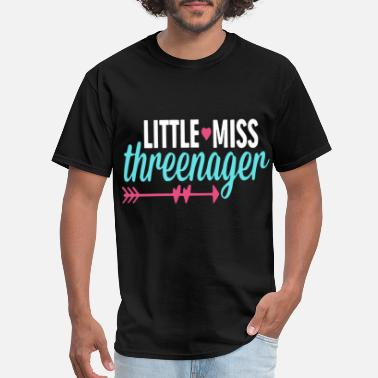 Modern Army Combatives little miss threenager girlfriend - Men's T-Shirt