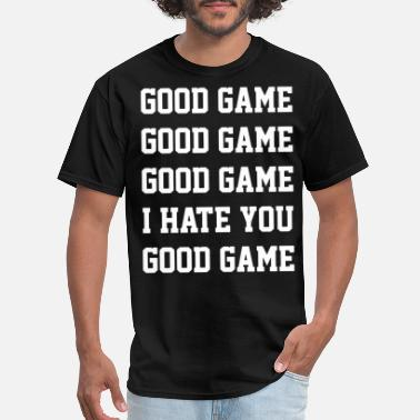 Tailgate Kids good game i hate you funny bar party sports tailga - Men's T-Shirt