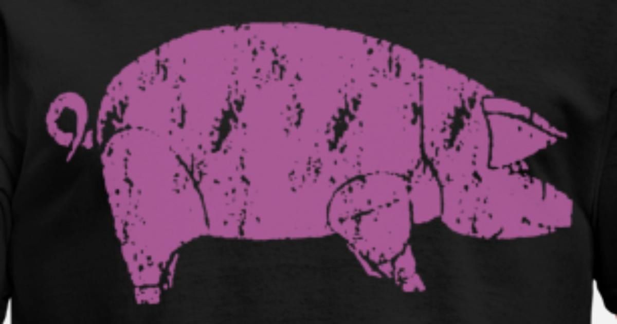 Pink Floyd Animals Pig NEW OFFICIAL farm Men's T-Shirt | Spreadshirt