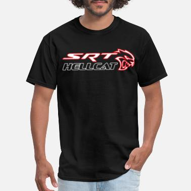 Srt Hellcat Dodge Challenger Hellcat SRT Supercharged HEMI Mot - Men's T-Shirt
