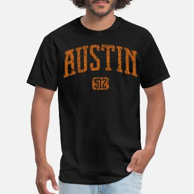 Rangers Suck Austin Area Code Texas South By Southwest texas - Men's T-Shirt