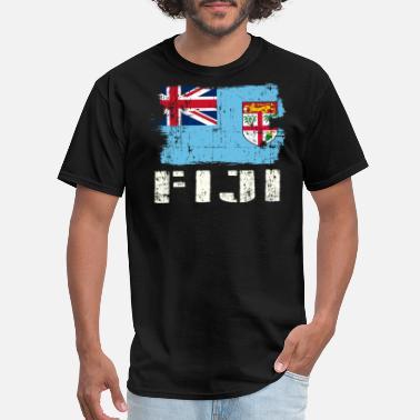 Fiji Island flag mens womens kids /& baby white t shirt top country design