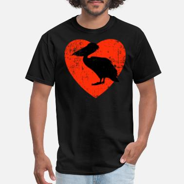 Pelican Love My Pelicans Design - Men's T-Shirt