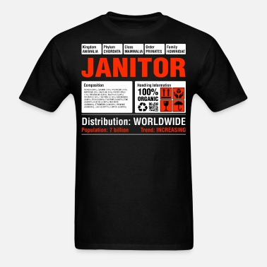 f3f18412ee Funny Janitor Tee Men's Premium T-Shirt | Spreadshirt