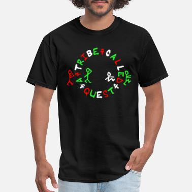 Hip Logo Atcq Rap Hip Hop dj T Sh - Men's T-Shirt