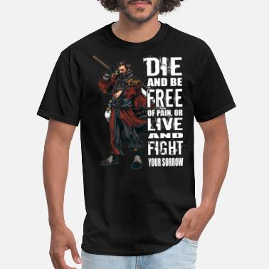 Final Final Fantasy - Die and be free of pain t-shirt - Men's T-Shirt