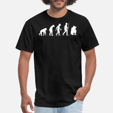 Evolution Of The Photographer Photographer Evolution - Men's T-Shirt