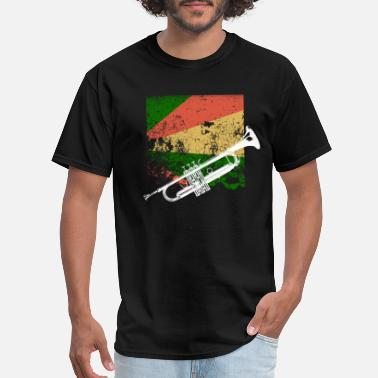 Trompete Trompet trump reggae woodwind - Men's T-Shirt