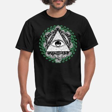 Christmas All Seeing Eye - Men's T-Shirt