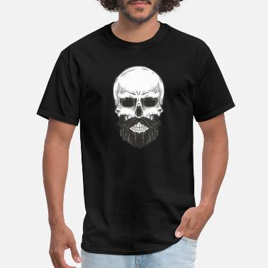 Bearded Skull Skull with beard - Men's T-Shirt
