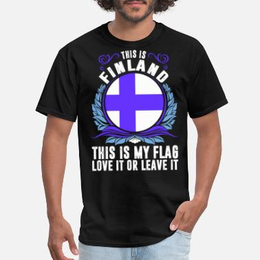 Funny Finland This Is Finland - Men's T-Shirt