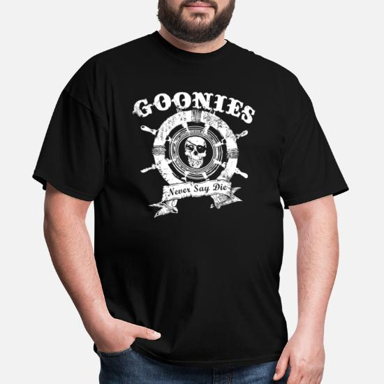 MUSH Eighteen Clothing T-Shirt Donna The Goonies Never Say DAIE 80S by