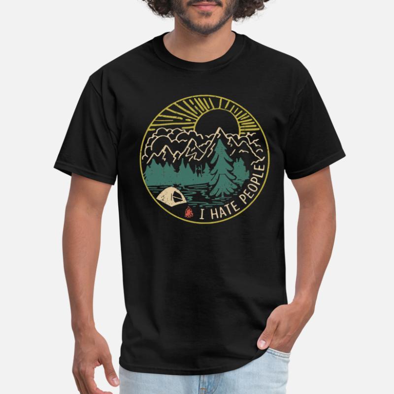 0f8d3110c9b826 Shop I Hate People T-Shirts online