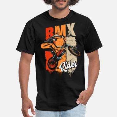 Bmx BMX Rider - BMX Bike - BMX Retro Vintage - Men's T-Shirt