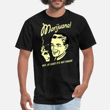 Party Funny vintage marijuana joke - Men's T-Shirt