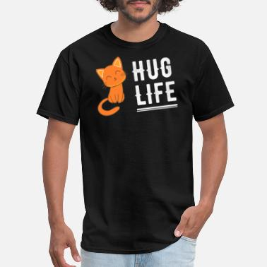 Hug Hug Life cat - Men's T-Shirt