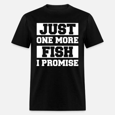 ec654e20 Just one more fish i promise Men's Premium T-Shirt | Spreadshirt