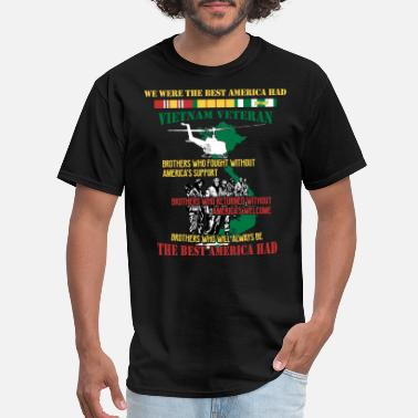 Were We Were The Best American HAD with Helicopter - Men's T-Shirt
