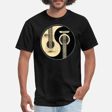 Ying GUITAR YING YANG - Men's T-Shirt