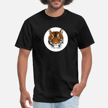 Tiger Eye Eye of the Tiger - Men's T-Shirt
