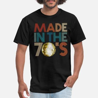 Seventies Made Made In The 70s Seventies Retro Disco 1978 Vintage - Men's T-Shirt