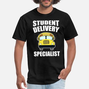 Class Of Senior 2017 student delivery specialist car school funny happy - Men's T-Shirt