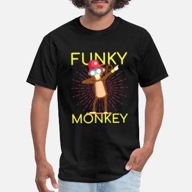 Monkey Kids Ape tee - Funky Monkey - Men's T-Shirt