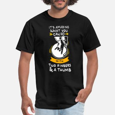 Bowling Quote bowling funny quotes - Men's T-Shirt