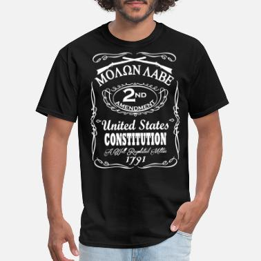 Jack Daniels 2nd Amendment JD  - Men's T-Shirt