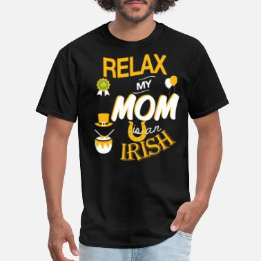 Irish Mom Irish mom - My mom is an Irish - Men's T-Shirt