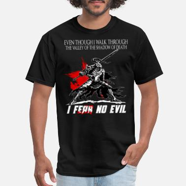 Dark Dark Souls - Dark Souls - even though i walk thr - Men's T-Shirt