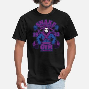 Pukie Crossfit Clown Fitness Crossfit - Snake mountain 1983 awesome t-shirt - Men's T-Shirt