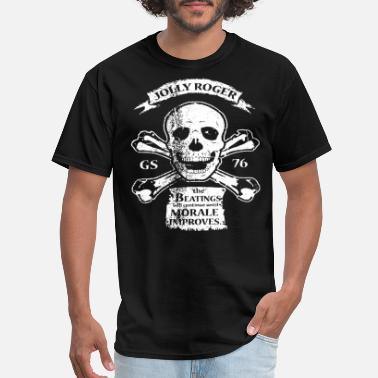 Mate Jolly Roger Grunt Style Free Shipping Usa gun T Sh - Men's T-Shirt