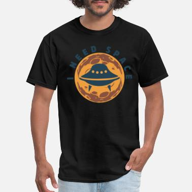 Breathing Space I Need Space - Men's T-Shirt