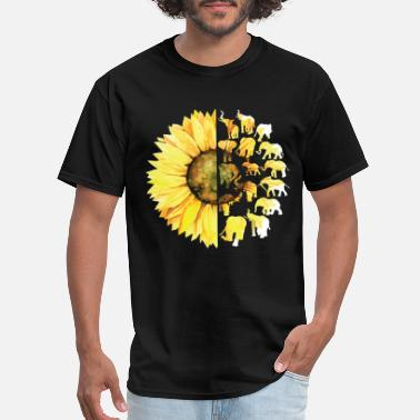 Limited edition Classic sunflower yelow flower far - Men's T-Shirt