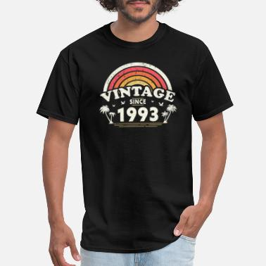 1993 Vintage Since 1993, Birthday Gift For Men And - Men's T-Shirt