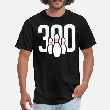 Shop 300 Bowling Game T-Shirts online   Spreadshirt